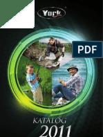 Katalog firmy York Wędkarstwo 2011
