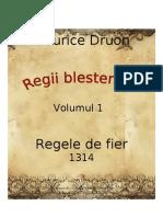 Maurice Druon - Regii blestemati vol.1 - Regele de fier [v. BlankCd]