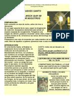 ADORACIÓN FAMILIAR JUEVES SANTO2020