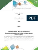 FASE 1 - PLANIFICAR LA AUDITORIA AMBIENTAL