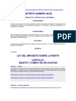DECRETO DEL CONGRESO 26-92 VIGENTE AL 31-12-2012