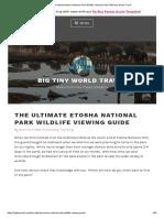 The Ultimate Etosha National Park Wildlife Viewing Guide _ BIG tiny World Travel