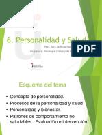 6-Personalidad y salud