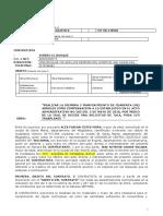 Contrato Vivero El Bosque - San Andres Isla