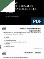 Sesión 2 Normas Constitucionales Empresariales (1)