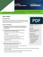 Code de conduite des utilisateurs des actifs informationnels du Cégep Garneau