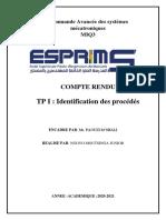 TP1 commande avancée des systemes mecatroniques
