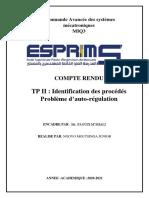 TP2 Commande avancée des systemes mecatroniques