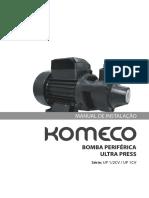 Manual PDF Bomba Periferica UP