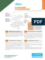 FICHA TECNICA GAVION REFORZADO PLASTIFICADO CON AL
