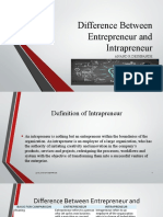 DARM_Difference Between Entrepreneur and Intrapreneur
