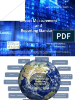 Impact Measurement and Reporting Standards