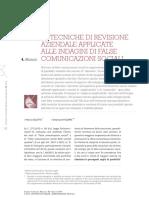 revisione contabile e falso in bilancio-Coletta-Falorni-2018