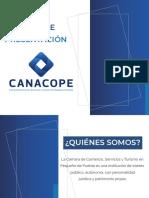 CANACOPE Puebla - Carpeta de presentación