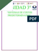 SISTEMAS DE COSTOS PREDETERMINADOS