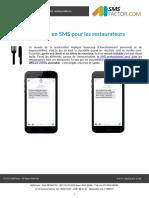 Exemples de SMS professionnels pour les restaurateurs