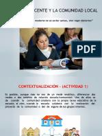 Tema 5 Docente y Comunidad Romero