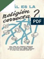 T11 ¿Cuál es la religión correcta