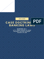 Banking Case Doctrines