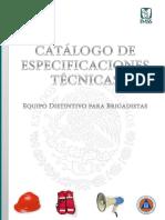 Catalogo de Especifiaciones Técnicas Equipamiento