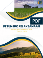 Petunjuk Pelaksanaan Kegiatan Landreform Tahun 2020