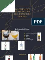 IDENTIFICACIÓN DE PRODUCTOS DEL SERVICIO DE BEBIDAS .pptx