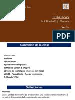 9 Clases N°9 Finanzas 17 Nov20 Acciones