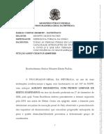 Recurso PGR - prisão domiciliar (18/12/2020)
