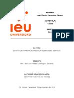 Actividad 4 Determinar el valor de una empresa JUAN RAMON HERNANDEZ CAZARES