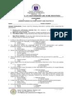 UCSP Week 7 Assessment for Quarter 1