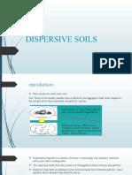 DISPERSIVE SOILS