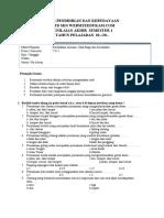 Soal PAS PJOK Kelas 6 (Websiteedukasi.com)