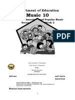 2nd Quarter Music 10 SLEM Week 2