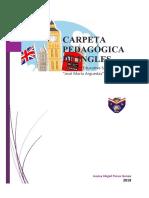 +++CARPETA PEDAGOGICA INGLES