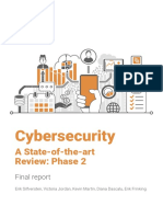 Cybersecurity .a State-Of-The-Art Review Phase 2. Final Report