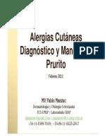 alergias cutaneas diagnostico y manejo del prurito