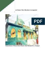 Biography of Hazrat Banne Miya Biyabani Aurangabad