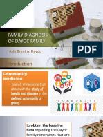 Dayoc- Family Diagnosis of Dayoc Family