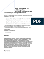Artificial Intelligence, Blockchain, And Internet of Medical Things_ New Technologies in Detecting, Preventing, And Controlling of Emergent Diseases _ SpringerLink (1)