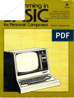 Programming in BASIC for Personal Computers (1981)
