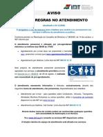AvisoNovasRegrasNoAtendimentoPresencial