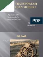 Alat Transportasi Kuno Dan Modern