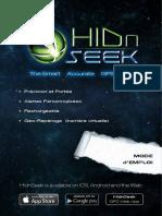 HidnSeek ST1 Manuel d'utilisateur