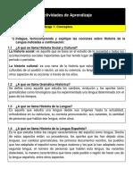 La Historia de la Lengua Española como Disciplina Lingüística