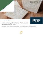 roti putih - Google Penelusuran