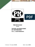 manual uso mantenimiento gruas serie 22 26 PM