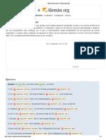 Ejercicios de alemán_soluciones Verbos separables