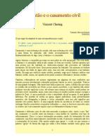 Cheung-O cristão e o casamento civil