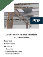 (C7) CONEXIONES EN EDIFICIOS UdeA 2018