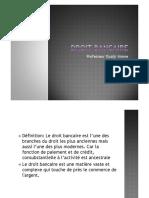Droit Bancaire - Pr.Imane Oualji